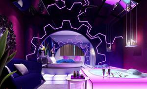 梦幻高级大型酒店装修设计效果图