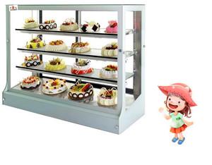 卡通现代简约风格四层蛋糕展示柜效果图