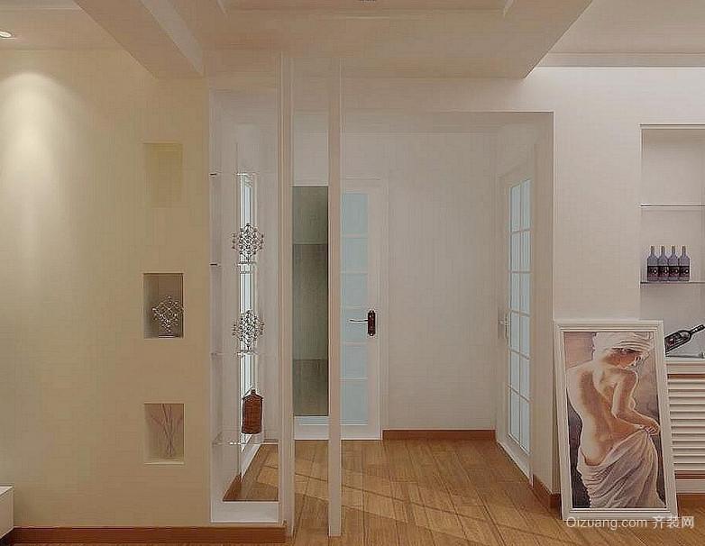 120平米大户型欧式玄关装修效果图鉴赏