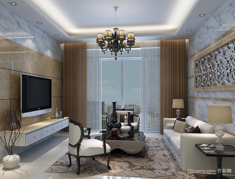 90平米大户型现代主义风格客厅装修效果图