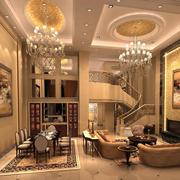 2016大户型宜家风格客厅装修效果图