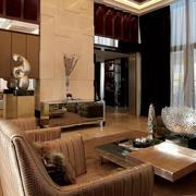 奢华风格公寓客厅装饰