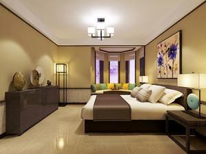美式自然大户型单身汉公寓装修效果图