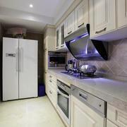 复式楼一字型厨房
