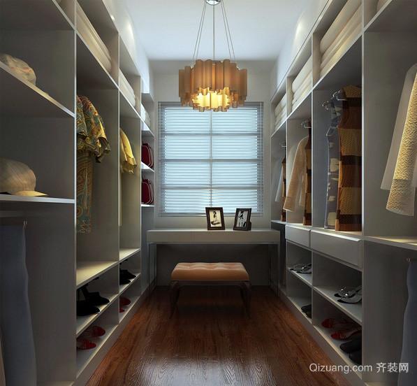 简约小户型家居衣帽间装修设计效果图