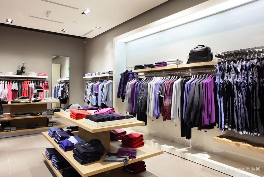 简约60平米小户型服装店装修设计效果图