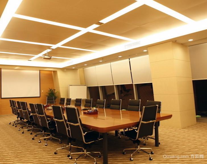 现代都市精致的会议室吊顶装修效果图鉴赏