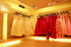 120平米唯美风格婚纱影楼装修设计效果图