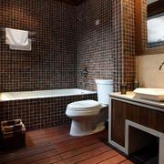 复式楼卫生间瓷砖展示
