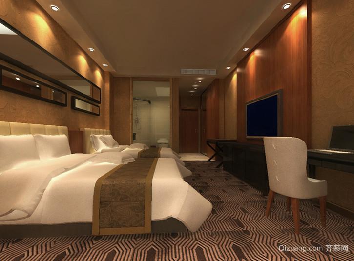 现代都市欧式小宾馆装修效果图鉴赏实例