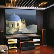 复式楼简约日式家庭影院装修效果图