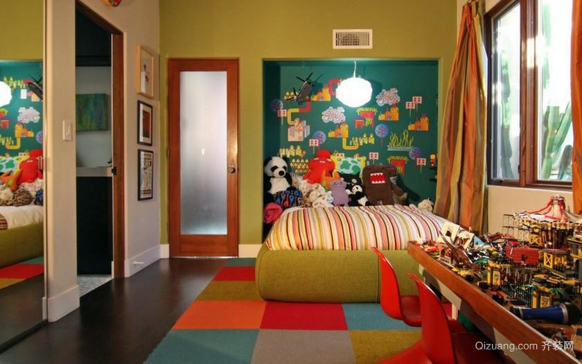大户型宜家风格儿童卧室装修效果图