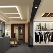 小户型时尚简约服装店装修设计效果图