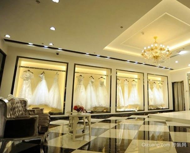 120平米简欧风格奢华大气婚纱影楼装修效果图