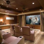 别墅时尚风格家庭影院装修效果图