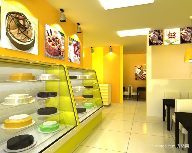 现代都市精美的蛋糕店设计效果图鉴赏实例