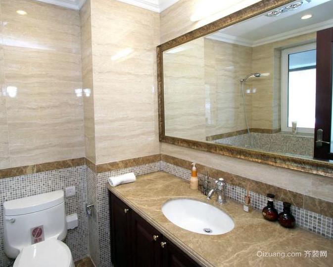 118平米简约风格卫生间洗脸盆装修效果图