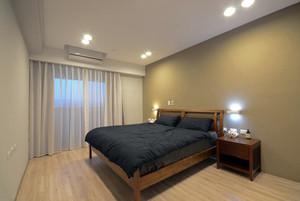 现代原木风200平米单身汉公寓装修效果图