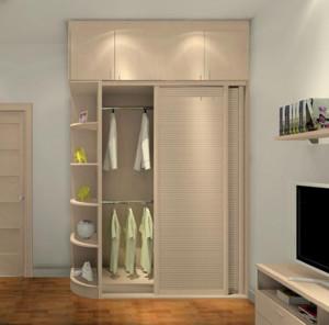 现代欧式大户型简易衣柜装修效果图鉴赏