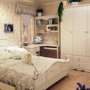 小户型欧式田园风格卧室家具装修效果图