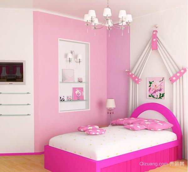 现代欧式大户型儿童房间装修效果图鉴赏