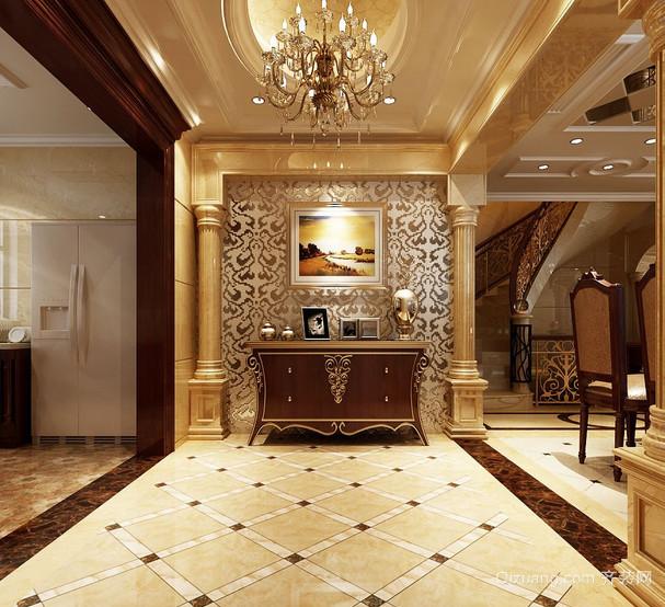 现代欧式经典的别墅装潢设计装修效果图