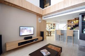 公寓客厅简约电视背景墙