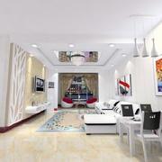 现代化简约客厅吊顶装饰