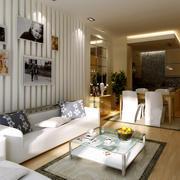 现代简约风格公寓客厅设计