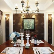 复式楼浪漫餐厅装饰