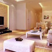 欧式简约风格公寓客厅装饰