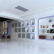 110平米浪漫系列婚纱影楼装修设计效果图