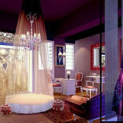 100平米都市风格婚纱影楼装修设计效果图