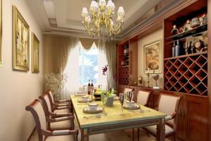 别墅浪漫欧式风格酒柜图片大全