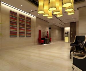 现代都市精致的商务酒店装修效果图实例欣赏