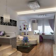 交换空间简约客厅装饰