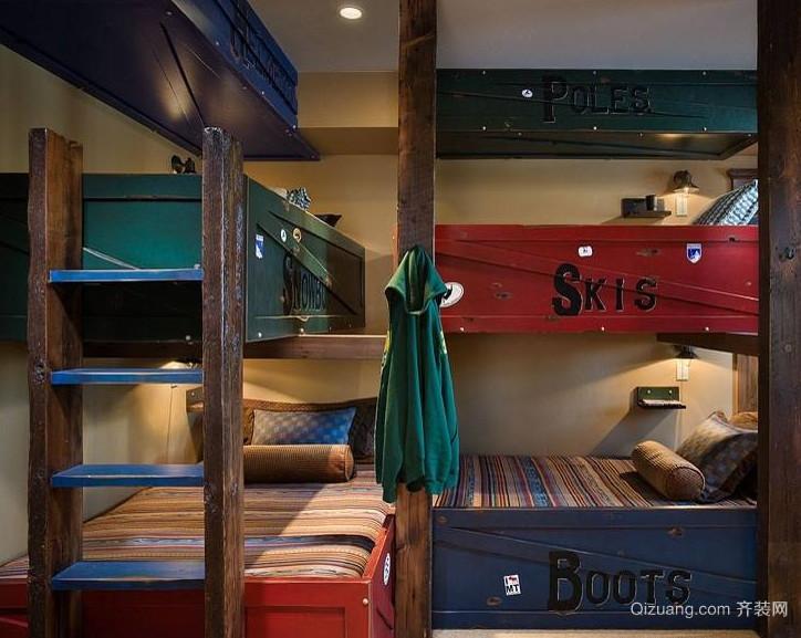 现代大户型地中海风格儿童房装修效果图鉴赏