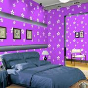 118平米色彩鲜艳液体壁纸装修效果图片