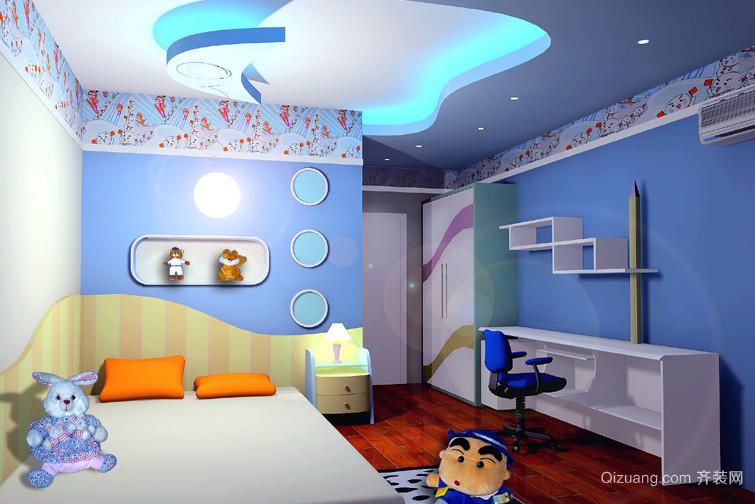 三居室轻快风格儿童卧室装修效果图
