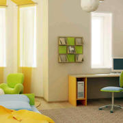 别墅充满童趣儿童卧室装修效果图