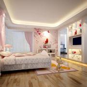 大户型自然风格儿童卧室装修效果图