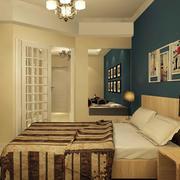 交互空间欧式简约风格卧室装饰