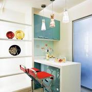 小户型简约风格客厅吧台装修效果图