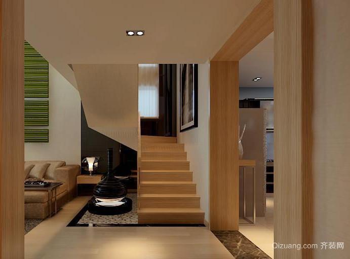 大户型欧式室内楼梯设计装修效果图鉴赏