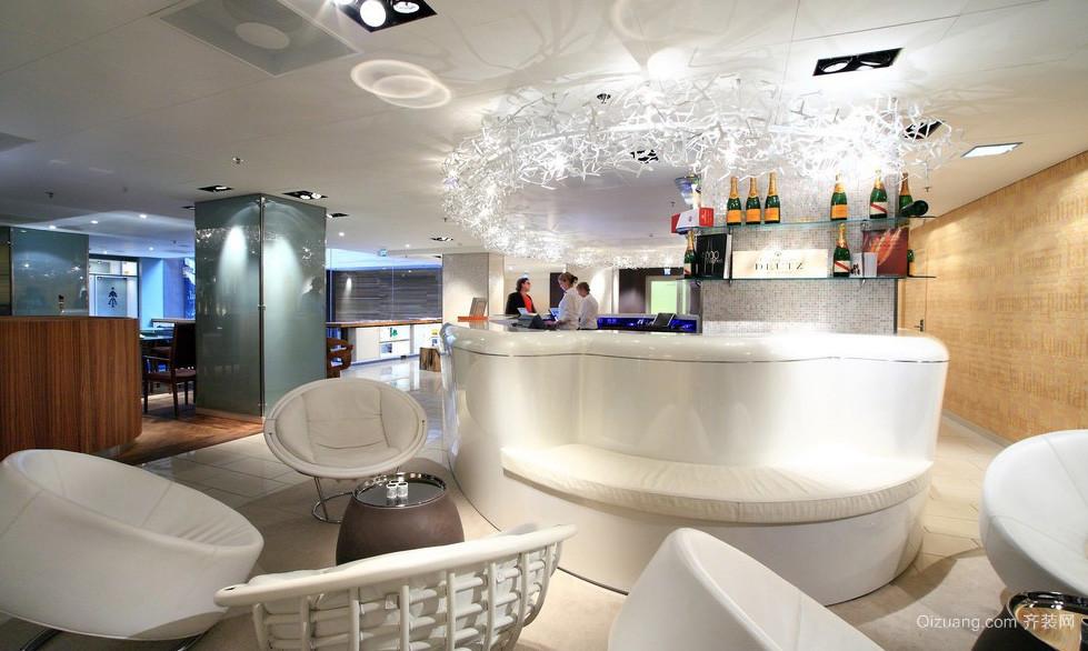 前卫现代化酒店餐厅装修设计效果图