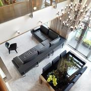 复式楼客厅沙发布置