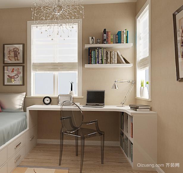 90平米欧式大户型儿童房书桌装修效果图鉴赏