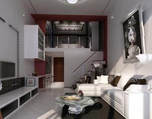 冷色调公寓设计图片