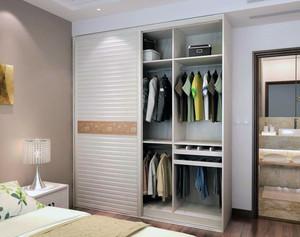 110平米大户型欧式卧室简易衣柜装修效果图