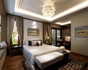 都市大型酒店公寓装修设计效果图